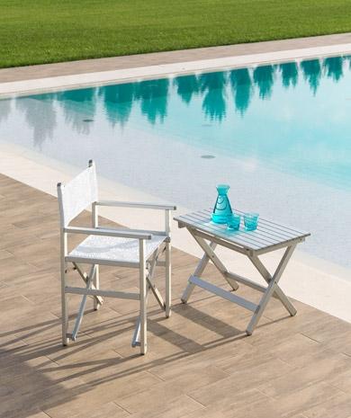 Arredi per esterno for Tavolino e sedia montessori